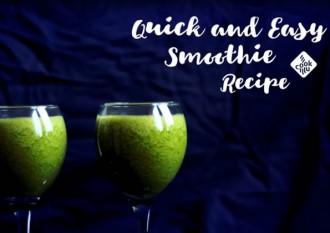 Super proste, zielone smoothie