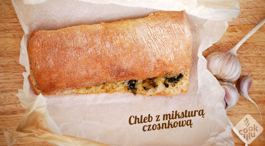 chleb z mikstura czosnkowa