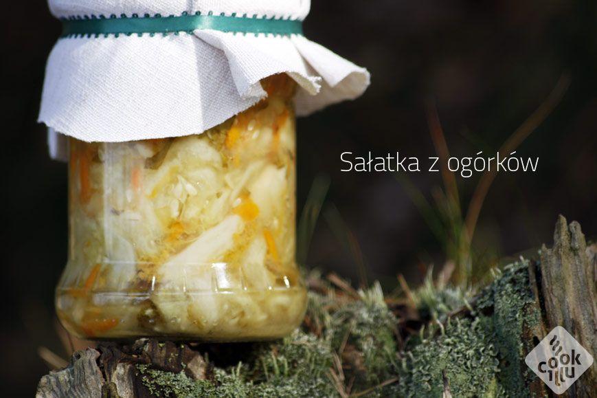 Sałatka-z-ogórków