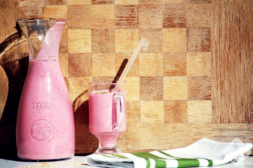 smoothie-malinowy